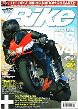 Bike Jun 2009 Aprilia RSV4 Streetfighter S KTM 990 SM R V-Max R1200GS Adventure