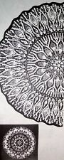 2236 Vintage Design ROYAL PINEAPPLE Doily Pattern to Crochet (Reproduction)