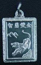 Zodiac Charm AQUARIUS Chinese Tiger Jewelry Sterling Silver .925