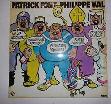 DISQUE 33T PATRICK FONT PHILIPPE VAL / ILL. CABU