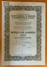 Sajetfabriek en Breierij J. Parmentier & Zonen - Leiden