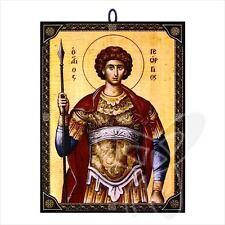 60183 icono hl. Georg Icon procedentes de Grecia икона Георгий Победоносец