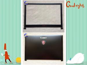 For MSI GS63 GS63VR GS63VR 7RF MS-16K2 MS-16K5 LCD Back Cover / LCD Frame Bezel