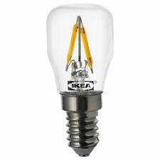 Set of 2 IKEA RYET LED sign bulbs E14 80 lumen clear
