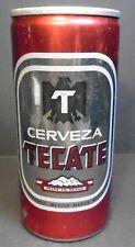 Vintage Cerveza Tecate 12 oz. Beer Can Cerveceria Cuauhtemoc S.A. Unopened top