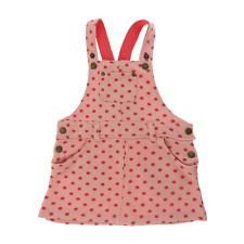 Vertbaudet robe salopette  rose à pois taille 1 an