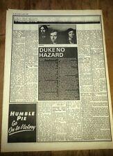 GENESIS Duke album review 1980 UK ARTICLE / clipping