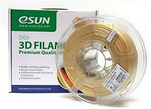 eSUN Wood Like PLA 1.75mm 400gms 3D Printing Filament with Spool