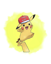Pokemon 20th Movie - I Choose You Ash Pikachu (Alolan Hat)