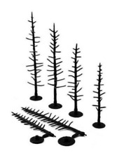 Woodland Scenics TR1124 2 1/2-4 Tree Armatures Pines (Pack 70)