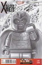 ALL NEW X-MEN 17 LEGO 1-100 SKETCH VARIANT BAGGED AND BOARDED  CASTELLANI
