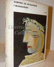 Romanzo: Simone de Beauvoir, I MANDARINI 1961 Einaudi Intellighenzia Francia