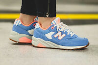 WOMENS NEW BALANCE NB 580 SEASIDE WRT580RB BLUE CASUAL RUNNING SHOES SZ 5.5-8.5