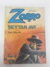 ZORRO #5 - 1980s 80s - Foreign Comic Book - VERY RARE - 6.5 FN+