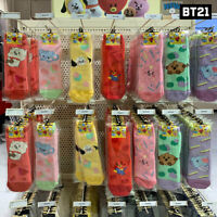 BTS BT21 Official Authentic Goods Cozy Socks Baby Ver + Tracking Number