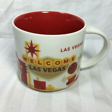 2014 STARBUCKS WELCOME TO LAS VEGAS COFFEE MUG GUC