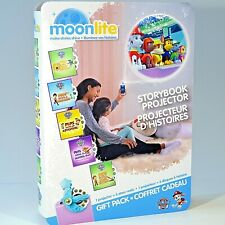 Moonlite Paw Patrol Storybook Projector & 5 Story Reels Gift from Spin Master
