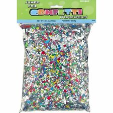 Jumbo Pack Foil CONETTI Pieces (283.5g/10oz) - Birthday Party Decorations