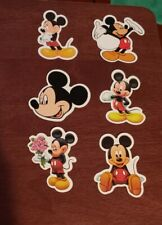 Disney Stickers - Lot of 6 - Mickey Mouse