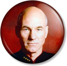 "Captain Jean-Luc Picard Star Trek Enterprise 1"" 25mm Pin Button Badge Sci-Fi"