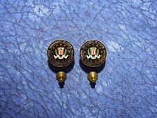 2 Federal Bureau of Investigations FBI Lapel/Hat Pin Tie Tacks
