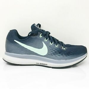 Nike Womens Air Zoom Pegasus 34 880560-405 Navy Blue Running Shoes Size 6.5
