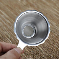New Kitchen Kungfu Teaware Stainless Steel Leaf Filter Fine Mesh Tea Strainer