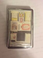 Jean Michel Basquiat CROWN 2-clip Cigarette Case Business Credit Card Holder