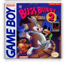 BUGS BUNNY CRAZY CASTLE 2 NINTENDO GAME BOY FRIDGE MAGNET IMAN NEVERA