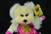 Beanie Ty Crystal The Bear Plush Toy Kids Cuddly Stuffed Kid Teddy Bear Animal +