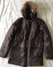 SuperDry coat Medium Men's Wax Style Double Zip Coat