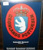 FRANCOBOLLI GROENLANDIA 1984 ANNATA COMPLETA YEARBOOK NUOVI MNH** (0 41)