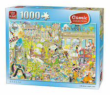 1000 Pezzi Fumetti Cartoon Stile Puzzle Crazy Berlino, Germania 05188