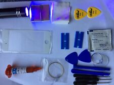 iPhone 7 Front Glass Repair Kit White loca glue, wire, Remover Uv Torch