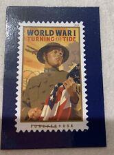 Usps #5300 World War I: Turning The Tide Forever Postage Stamp Promo Magnet 2018