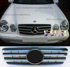 MERCEDES E w210 Saloon, 2000-03 Grille de calandre AMG Look, central Star: E55; E200; E240; E320