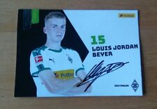 Borussia Mönchengladbach Autogrammkarte 2018/19