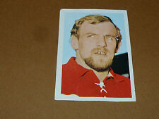 N°57 COLLIER BOURGOIN-JALLIEU RECUPERATION AGEDUCATIFS RUGBY 1971-1972 PANINI