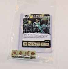 Marvel Dice Masters Guardians of the Galaxy DUM DUM DUGAN RARE Set CUR + 4 dice