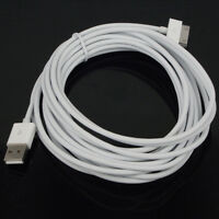 CABLE USB CARGADOR Y DATOS PARA IPHONE 4S 4 3GS 3G IPAD 3 2 1 IPOD NANO TOUCH