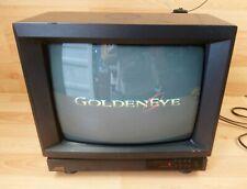 "JVC 13"" CRT TV C-1480EK Retro Gaming Television Tested Made In United Kingdom"