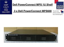Dell Powerconnect MPS 1U Scaffale 3 x Dell PowerConnect mps600 0rf89f