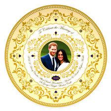 Prince Harry & Meghan 2018 Royal Wedding 20cm Decorative Plate Official Licensed