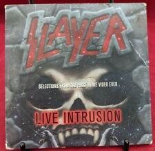 MAXI CD - SLAYER - LIVE INTRUSION - PROMO SAMPLER CD - 3 TRACKS - 1995 VERY FINE