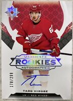 2019-20 ULTIMATE TARO HIROSE ROOKIES AUTOGRAPHED /299 RED WINGS #183 AUTO SP