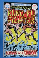 Richard Dragon Kung-Fu Fighter 1 1st Appearance Barney Ling NM