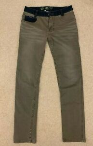 DKNY mens khaki jeans denim trousers size 29/30