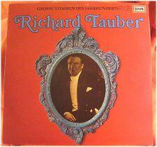 Richard Tauber, Grosse Stimmen des Jahrhunderts, VG/VG,  LP (3679)