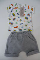 united colours of benetton New Outfit Set Shorts & Top Age 3-6 M Months Bnwts