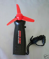 Portable mini fan MORI SEIKI black with 3 blade K398 propeller 80mm